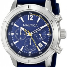 Nautica Men's N17652G Stainless Steel   100% original, import SUA, 10 zile lucratoare a22207 - Ceas barbatesc Nautica, Quartz