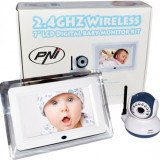 PNI Video Baby Monitor PNI B7000 ecran 7 inch wireless