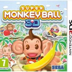 Jocuri Nintendo 3DS - Joc consola Sega Super Monkey Ball 3D pentru Nintendo 3DS