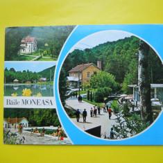 HOPCT 11917 BAILE MONEASA - - JUDETUL ARAD [ CIRCULATA ] - Carte Postala Crisana dupa 1918, Printata