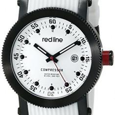 Red line Men's RL-18000-02-BB-WHT-ST Compressor | 100% original, import SUA, 10 zile lucratoare a12107 - Ceas barbatesc Red Line, Quartz