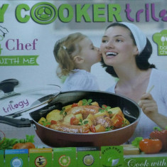 Tigaie Dry Cooker Trilogy Wellberg DK-2014 NG teflon