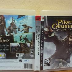 Pirates Of The Caribbean: At World's End (PS3)(ALVio) + alte jocuri PS3 (SCHIMB), Actiune, 16+