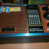 Radio retro cu usb,sd,mp3 cu acumulator incarcare baterie si priza LEOTEC