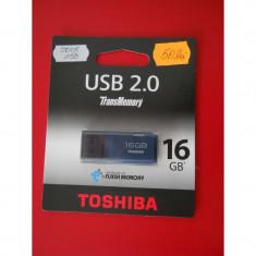 Stick Memorie USB 16GB Toshiba - PRODUS NOU - Stick USB Toshiba, USB 2.0