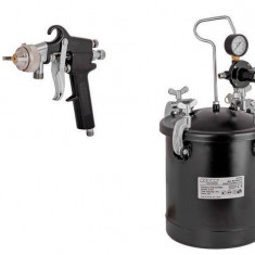 089915-Pistol de vopsit pneumatic cu rezervor sub presiune 10 L Raider