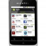 Telefon Alcatel - Smartphone Alcatel OT-903 alb