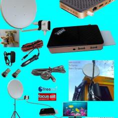 Antena tv tir sau camping/rulota cu trepied