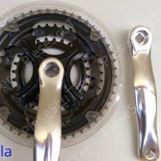 Angrenaj / foaie pedalier / pedale 3 FOI / bicicleta / MTB