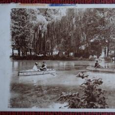Carte postala - Ramnicul Valcea - Circulatie cu supratipare - Lacul Zavoiul - Carte Postala Bucovina dupa 1918, Necirculata