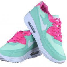 ADIDASI NIKE AIR MAX 2015 - Adidasi dama, Marime: 37, 38, 40, Culoare: Verde, Piele sintetica