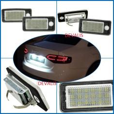 LEDuri tuning G-View - Lampa numar dedicata LED Audi Q7, A3, A4 (B6, B7 ), A6 4F, A8 4E, RS4, RS6, S6