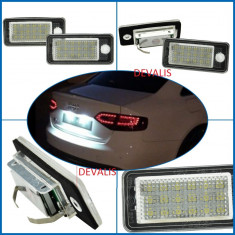 Lampa numar dedicata LED Audi Q7, A3, A4 (B6, B7 ), A6 4F, A8 4E, RS4, RS6, S6 - Led auto G-View