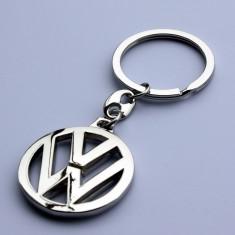 Breloc model vw Volkswagen VW crom + cutie simpla cadou - Breloc Auto