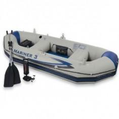 Barca pneumatice, Pneumatica, Particular - BARCA GONFLABILA INTEX MARINER 3, PT.3 PERSOANE 300KG, PUTETI MONTA MOTOR LA EA.