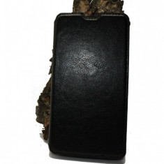 Husa Acer Liquid Z5 piele ecologica neagra - Husa Telefon Acer, Negru