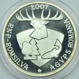 Ticuzz - BNR 2007 MUZEUL CINEGETIC POSADA, Argint - certificat, pliant, cutie - Medalii Romania