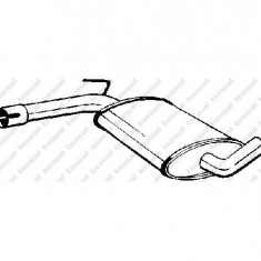 Toba finala auto - Toba esapamet intermediara VW PASSAT 3A2 35I PRODUCATOR BOSAL 233 481