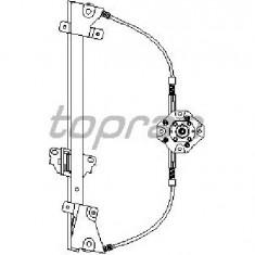 Macara geam - Mecanism actionare geam OPEL KADETT E hatchback 33 34 43 44 PRODUCATOR TOPRAN 200 035