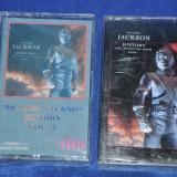 2 Casete audio MICHAEL JACKSON - History Vol. 1 si 2. De colectie!