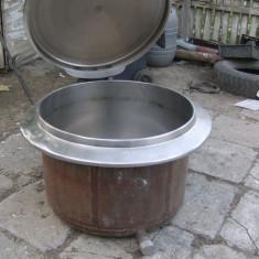 Vand cazan marmita facut mancare, pretabil pentru cazan tuica inox