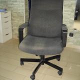 Scaun rotativ Ikea Malkolm Edsken (tapițerie bumbac-poliester) - Scaun birou, Stofa