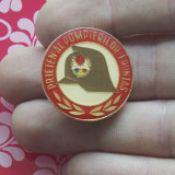 Insigna Pionier - Prieten al pompierilor - fruntas !!!