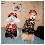Costumas chinezesc pt. catel / pisica catelus caine catei caini pisici +CADOU!