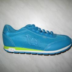 Pantofi sport dama WINK;cod FS5691-3;marime:37-41 - Adidasi dama Wink, Marime: 38, 40, Culoare: Turcoaz, Piele sintetica