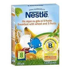 Cereale Mic Dejun Grau 5 Fructe Nestle 250gr Cod: 5601001014871