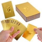 Carti Poker - Suflate cu Aur de 24k
