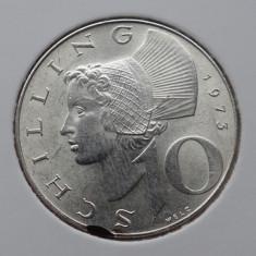 Moneda argint 10 Schilling 1973 - * atentie poze - 508