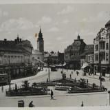 Oradea, Nagyvarad, Bihor - Bemer Ter 1945- Piesa de colectie ! - Carte Postala Transilvania 1904-1918, Circulata