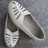 Pantofi dama - Pantofi Benvenuti, m.39, integral piele naturala, f calitativa, moale si comoda, interior integral piele naturala, cu talonet, f comozi si usori