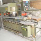 Utilaje - Centru unghiular de cepuit si profilat tamplarie termopane din lemn stratificat marca Steton IRWA TF5