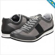 100% AUTENTIC - Adidas GUESS Gable 2 - Adidas Barbati - Adidasi Originali GUESS - Adidasi barbati Guess, Marime: 43, Culoare: Negru, Piele naturala