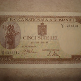 Bancnota de 500 lei 22.07.1941 filigran BNR orizontal