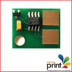 CHIP CARTUS TONER compatibil LEXMARK T620, T622, capacitate 20.000 pagini. - Chip imprimanta