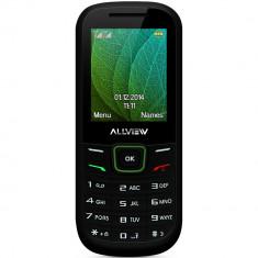 Telefon Allview, Negru, Nu se aplica, Neblocat, Fara procesor, Nu se aplica - Allview L5 Easy