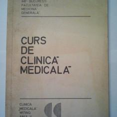 CURS DE CLINICA MEDICALA { VOLUMUL 2 ANUL V } - V. POMPILIAN ( 1108 ) - Curs Medicina