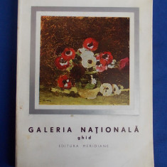 GALERIA NATIONALA : ARTA ROMANEASCA MODERNA SI CONTEMPORANA * GHID - 1965 - Album Muzee
