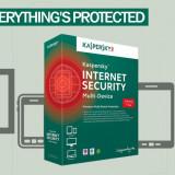 Antivirus - Kaspersky Internet Security - multi-device 2016 - 3 CALCULATOARE 1 AN