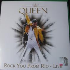 QUEEN-Rock you from rio - Muzica Pop Eagle, VINIL