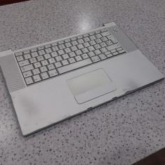 Palmrest + tastatura Apple MacBook pro A1260 in stare buna - Carcasa laptop