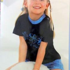 Haine Copii 1 - 3 ani, Pijamele, Fete - Noua! Pijama de vara albastra, marca Sweet Dreams, fetite 12-18 luni