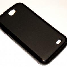 Husa Protectie Silicon Gel Tpu Allview A5 Duo + Folie de Protectie CADOU!!! - Husa Telefon Allview, Negru
