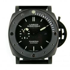Panerai Luminor Submersible Amagnetic Black Steel - calitate maxima ! - Ceas barbatesc Panerai, Casual, Cauciuc, Analog
