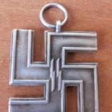"""Insigna - Decoratie veche germana, ww2, svastica """"Fur treue dienste in der SS"""""""