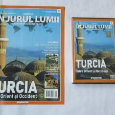 CALATORII FASCINANTE-IN JURUL LUMII-DeAGOSTINI-NR.9-TURCIA--DVD si REVISTA - Hobby Ghid de calatorie