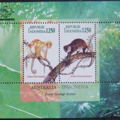 INDONEZIA 1996 - MAIMUTE 1 S/S, NEOBLITERATA - E2114, An: 1996